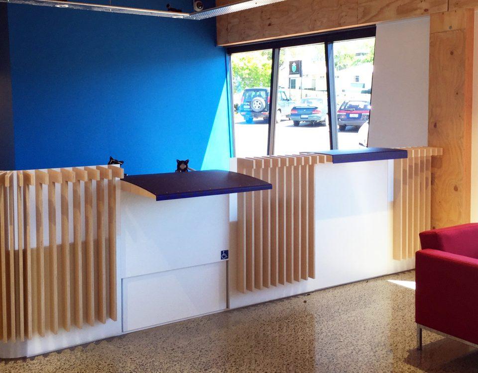 Rotorua Joinery - ACC Reception Fitout