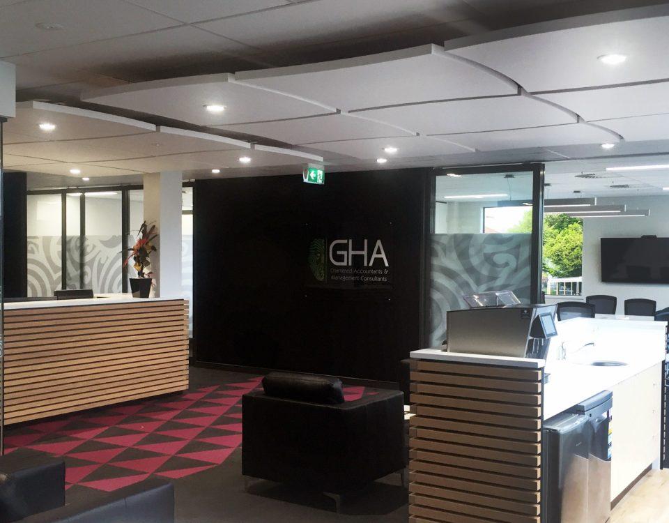 Rotorua Joinery - GHA Reception Area